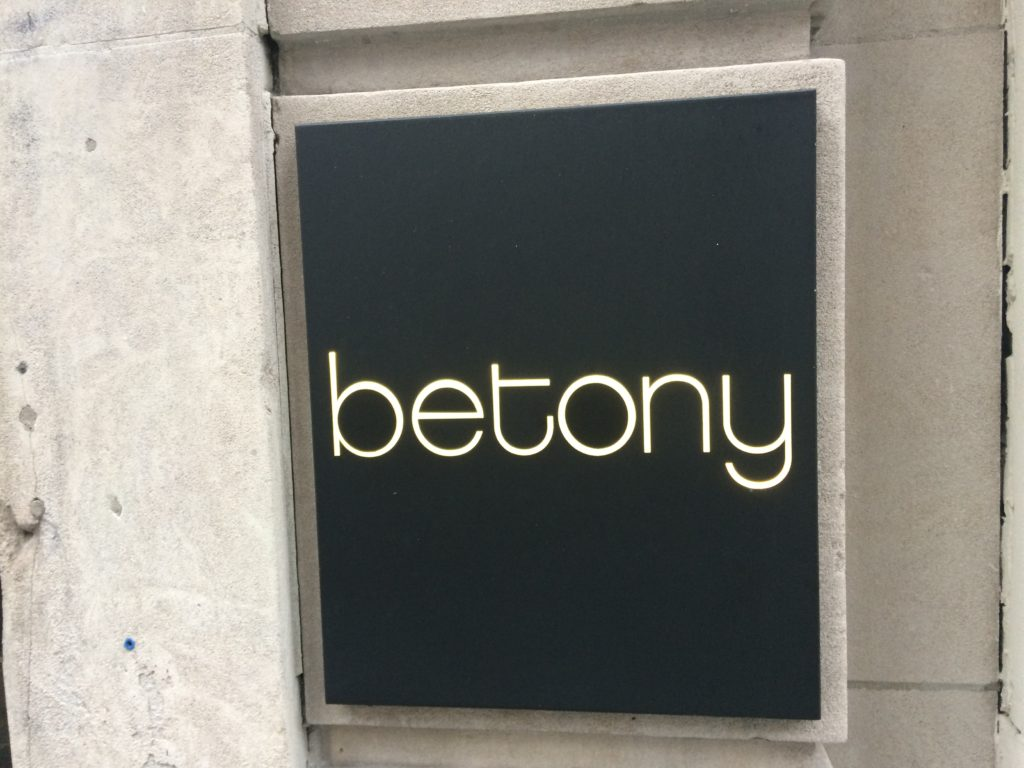 BETONY, 41 West 57th Street (between Fifth and Sixth Avenue), Midtown West