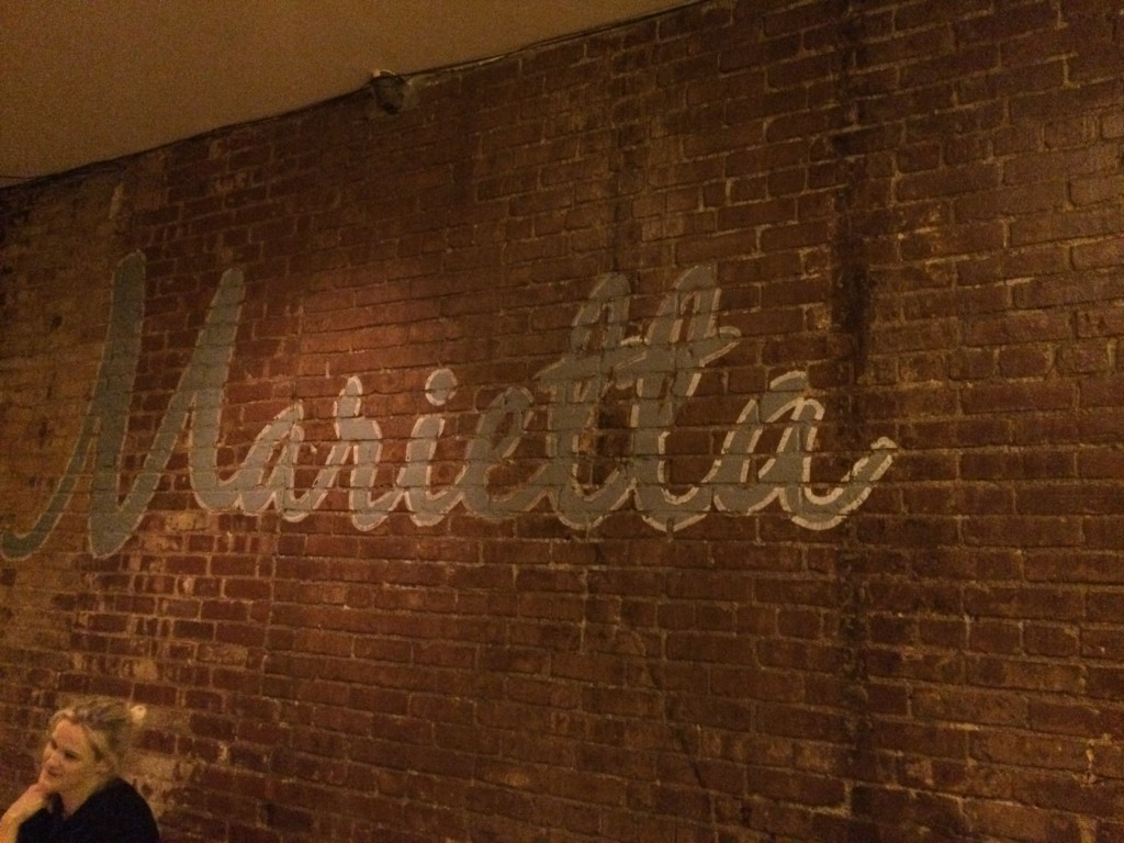 MARIETTA, 285 Grand Avenue (between Lafayette Avenue and Clifton Place), Clinton Hill, Brooklyn