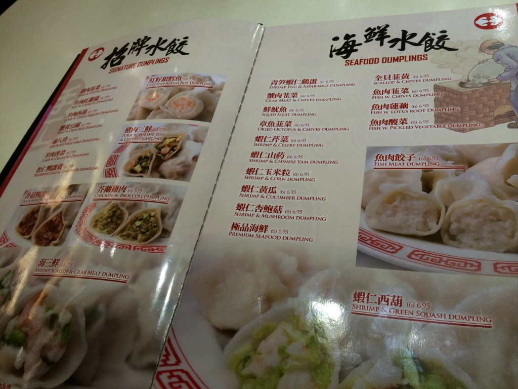 Pages and Pages of Dumplings