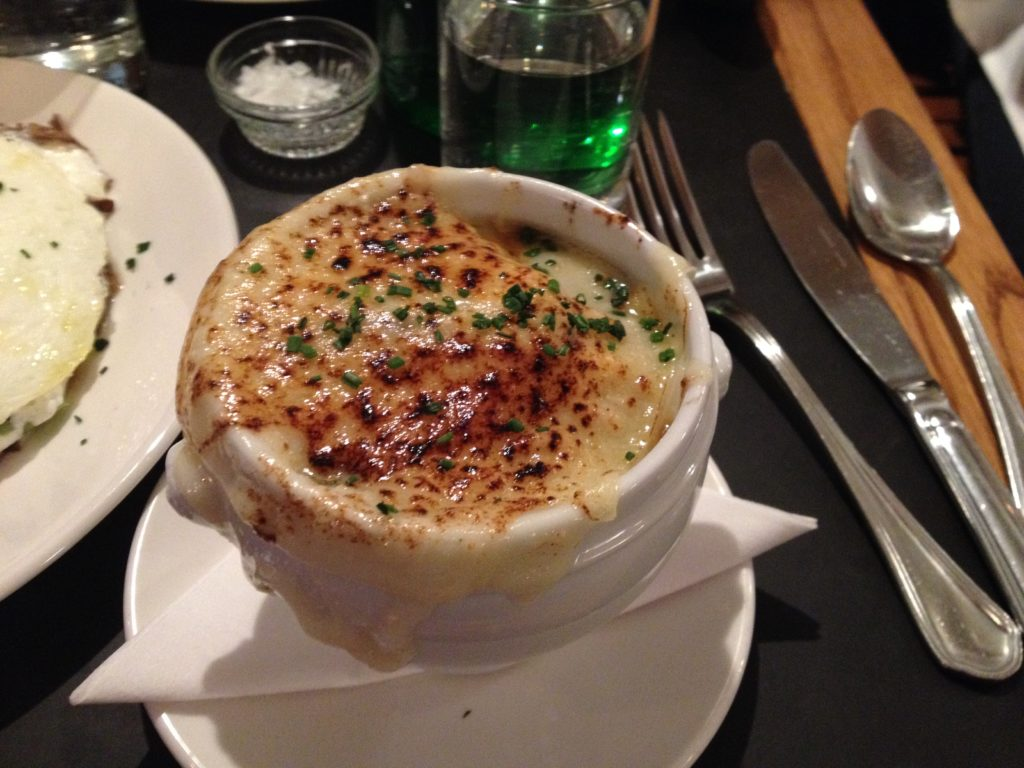 French Onion Gratinée at MONTMARTRE