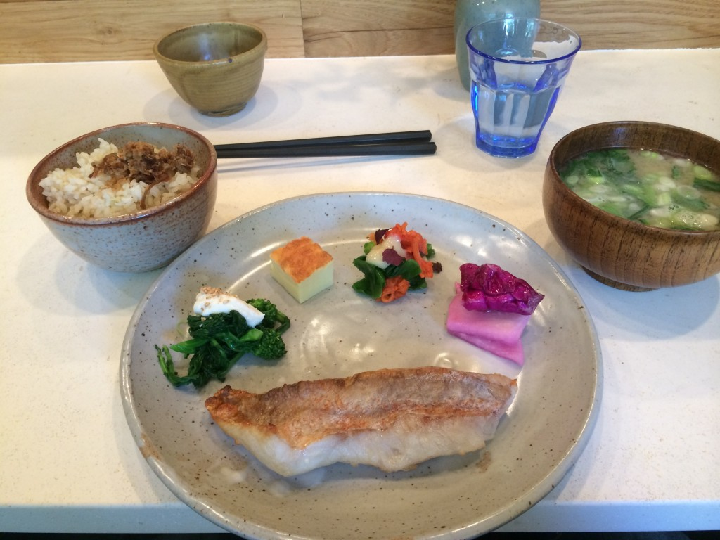 Japanese Breakfast at OKONOMI