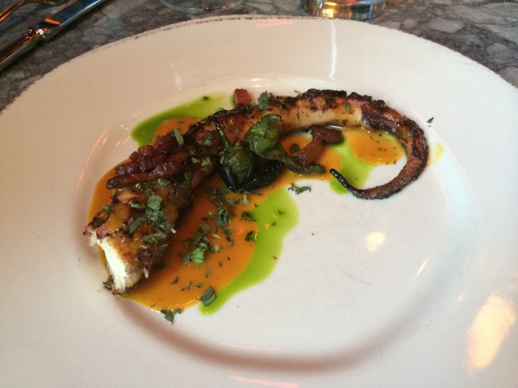 Roasted Octopus at GATO