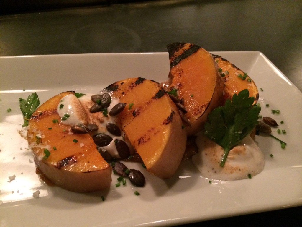 Grilled Butternut Squash at ROOT & BONE