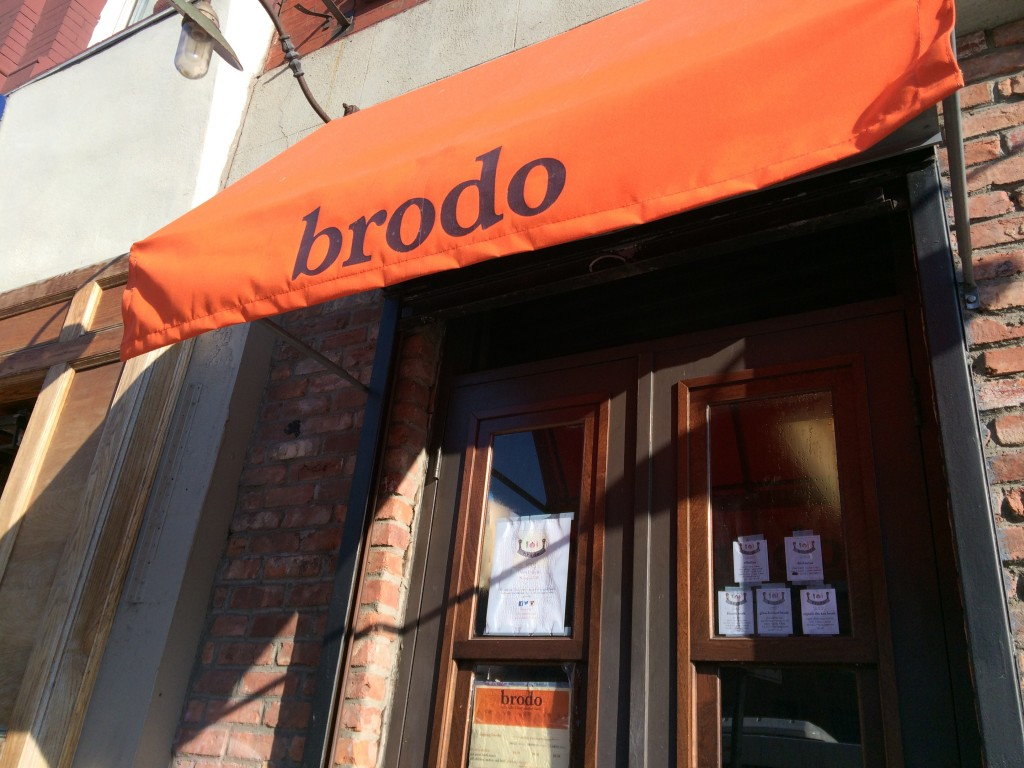 BRODO, 200 First Avenue (between East 12th and East 13th Street), East Village