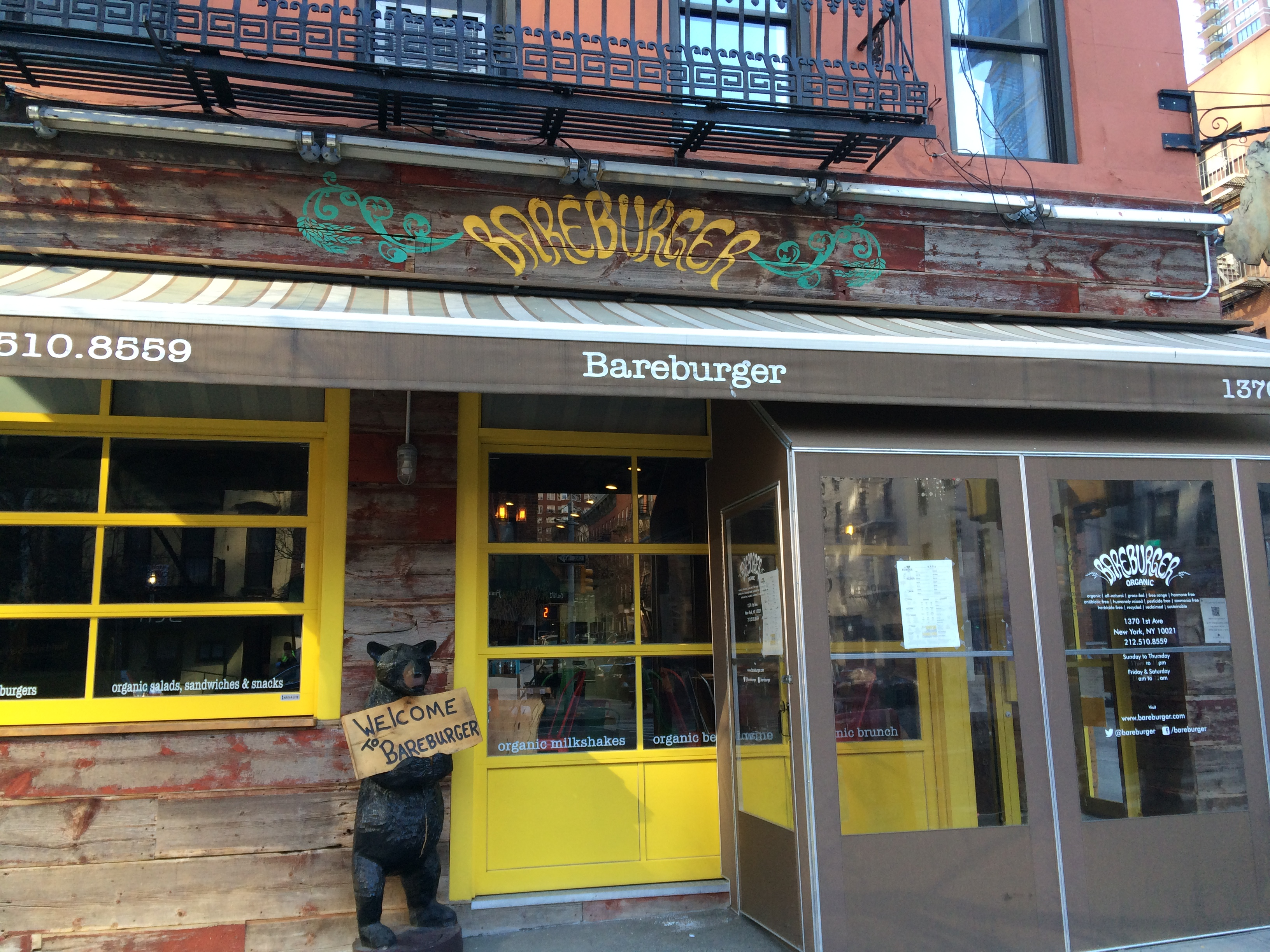 A Giant Bareburger Is Coming To Midtown East Midtown Lunch