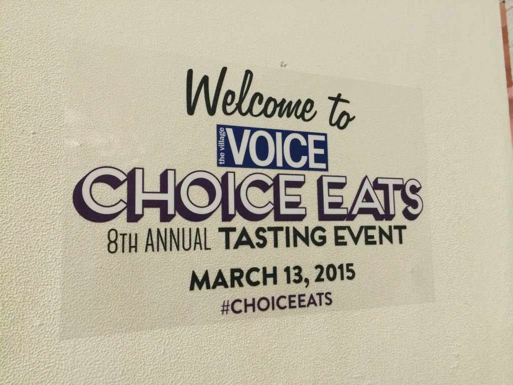 Village Voice's CHOICE EATS 2015