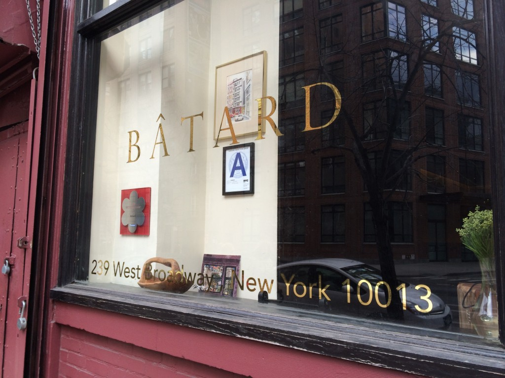 BÂTARD, 239 West Broadway (between White and Walker Street), Tribeca