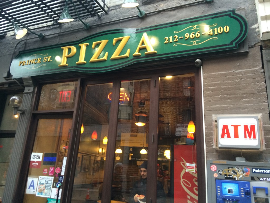 PRINCE STREET PIZZA, 27 Prince Street (between Mott and Elizabeth Street), Nolita