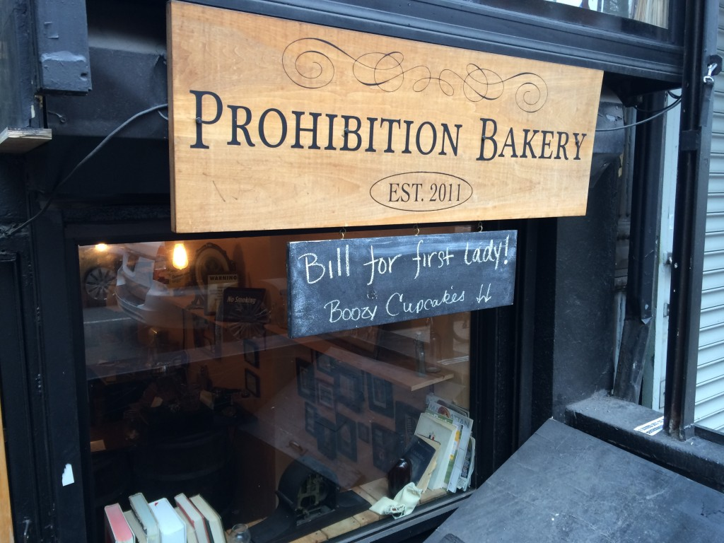 PROHIBITION BAKERY, 9 Clinton Street (between East Houston and Stanton Street), Lower East Side
