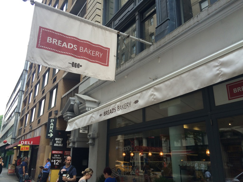 BREADS BAKERY, 18 East 16th Street (between Broadway and Fifth Avenue), Union Square