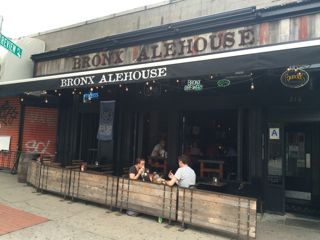 BRONX ALE HOUSE, 216 West 238th Street (between Broadway and Putnam Avenue West), Kingsbridge, Bronx