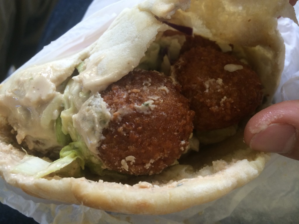 Falafel Sandwich at NAOMI'S KOSHER PIZZA