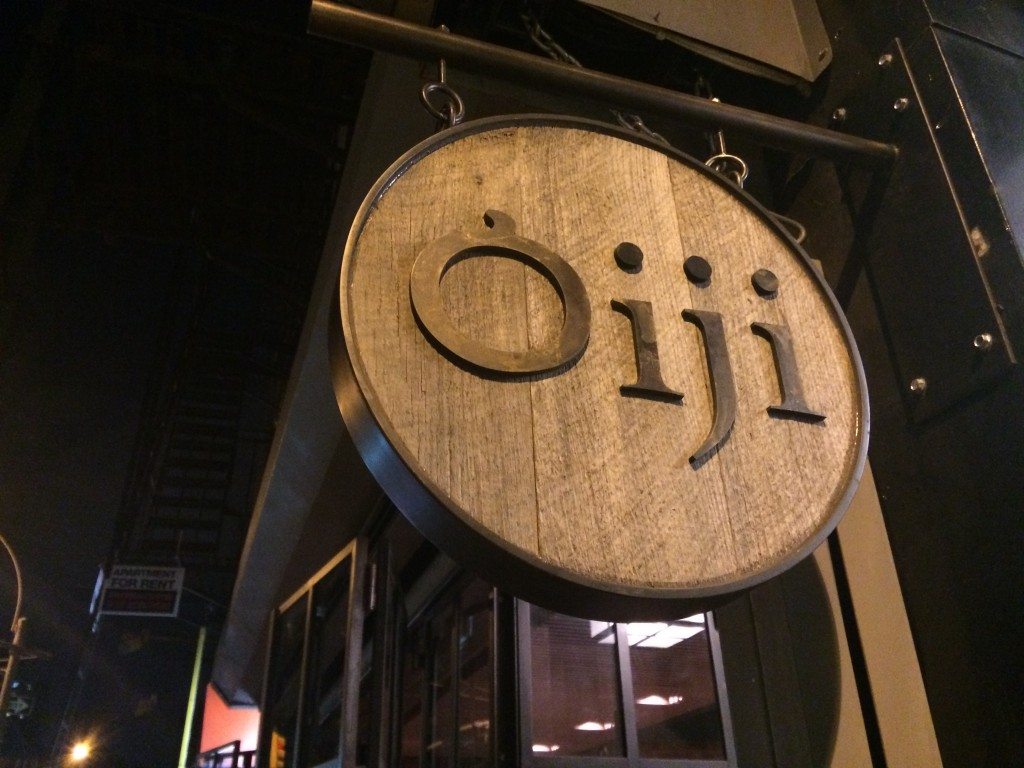 OIJI, 119 First Avenue (between 7th and 8th Street), East Village