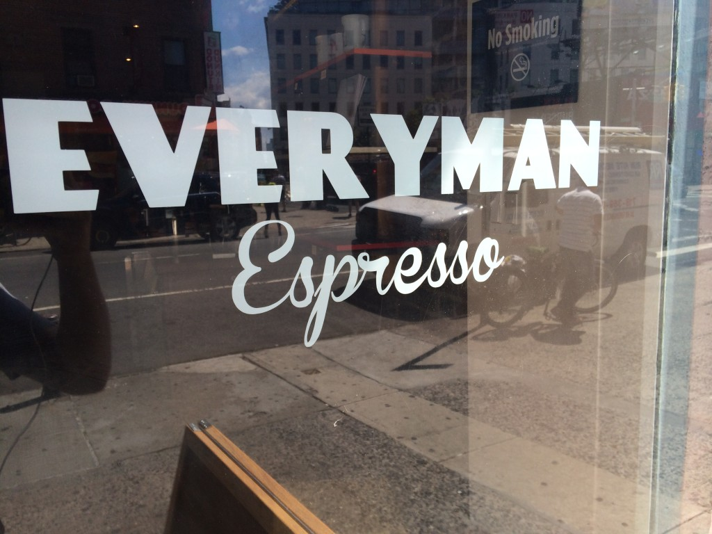 EVERYMAN ESPRESSO, 301 West Broadway (between Grand Street and Canal Street), Soho