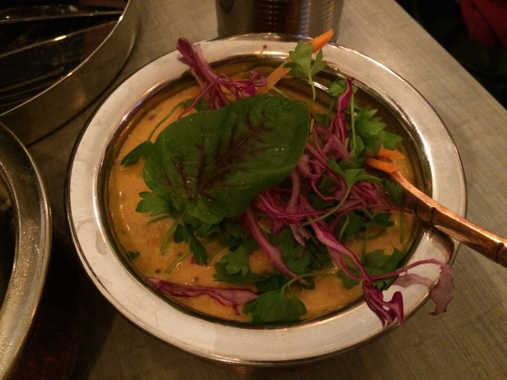 Scallop Coconut Curry at BABU JI