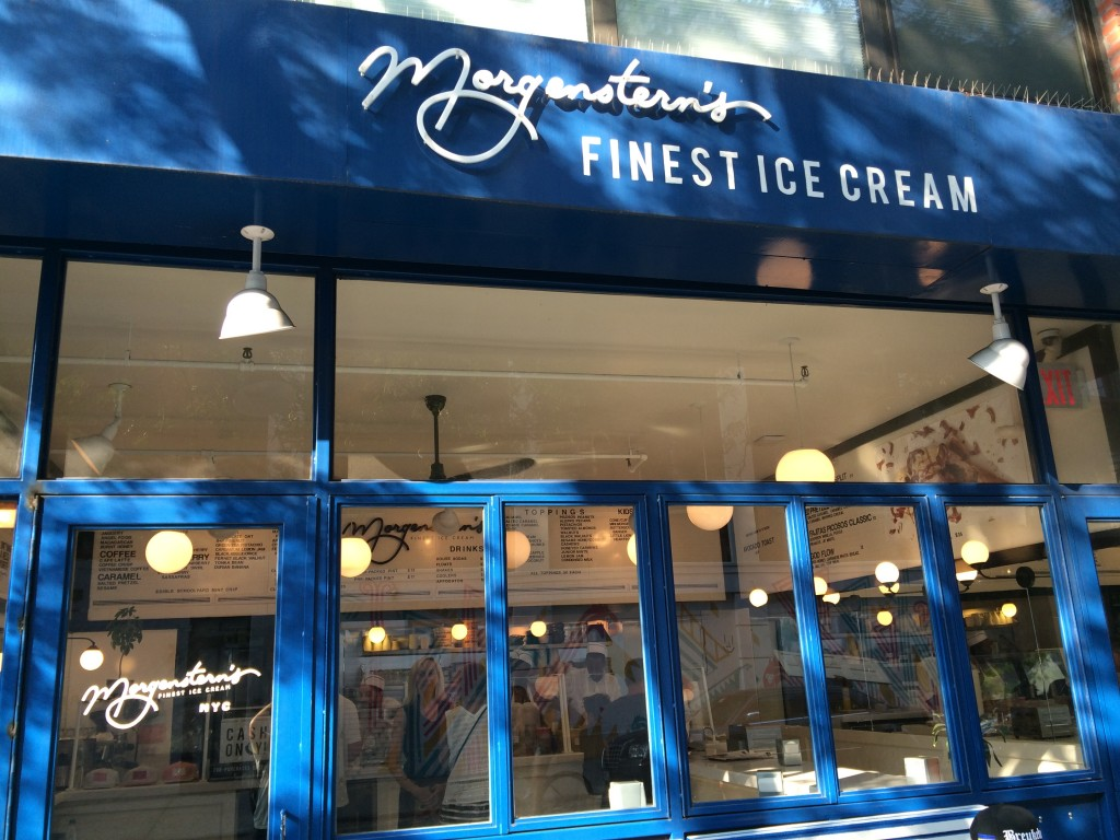 MORGENSTERN'S FINEST ICE CREAM, 2 Rivington Street (between Bowery and Chrystie Street), Lower East Side