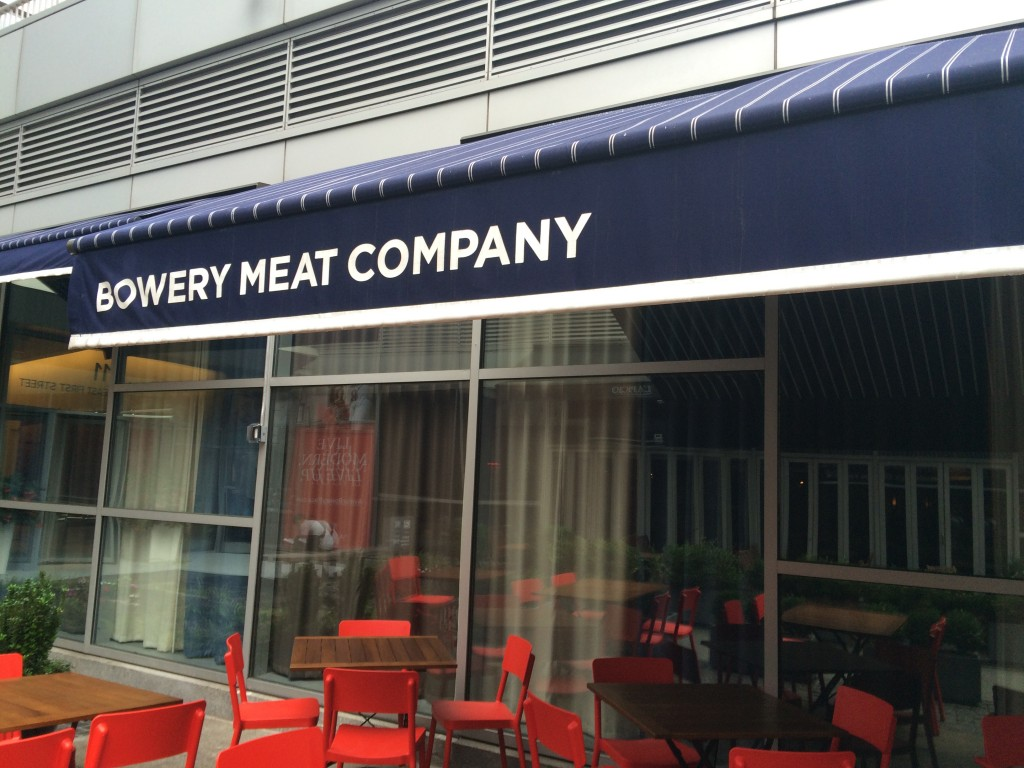 BOWERY MEAT COMPANY, 9 East 1st Street (between Bowery and Second Avenue), East Village