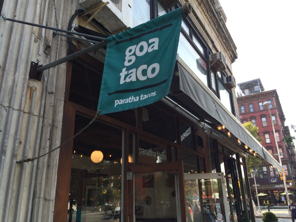 GOA TACO, 79 Delancey Street (between Allen and Orchard Street), Lower East Side