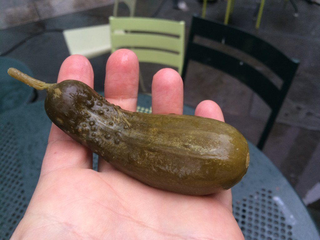 Full Sour Pickle at PICKLE ME PETE
