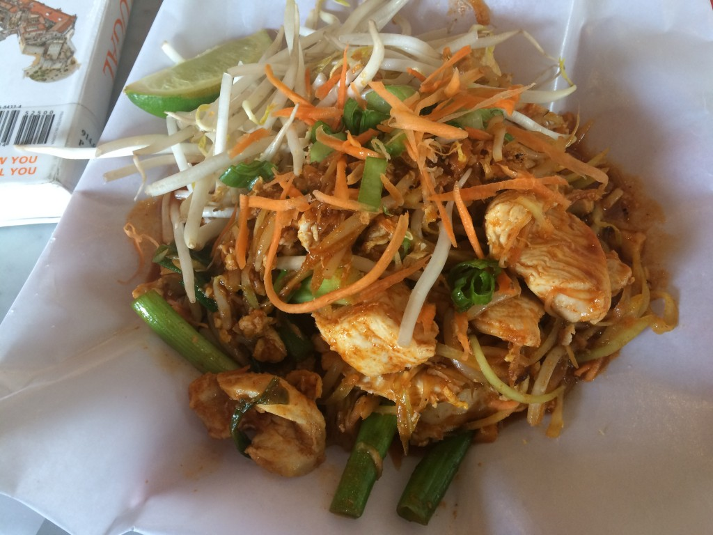 """No Carb"" Pad Thai at SKYICE SWEET & SAVORY"