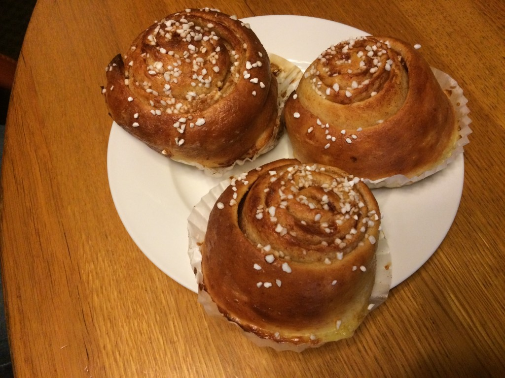 Cinnamon Buns at CHURCH OF SWEDEN