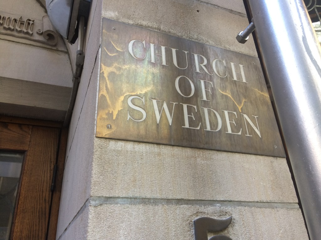 CHURCH OF SWEDEN, 5 East 48th Street (between Madison and Fifth Avenue), Midtown East