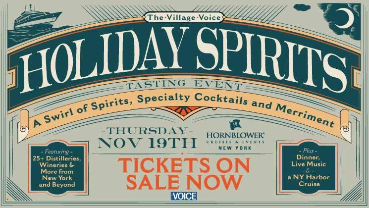 VILLAGE VOICE'S HOLIDAY SPIRITS