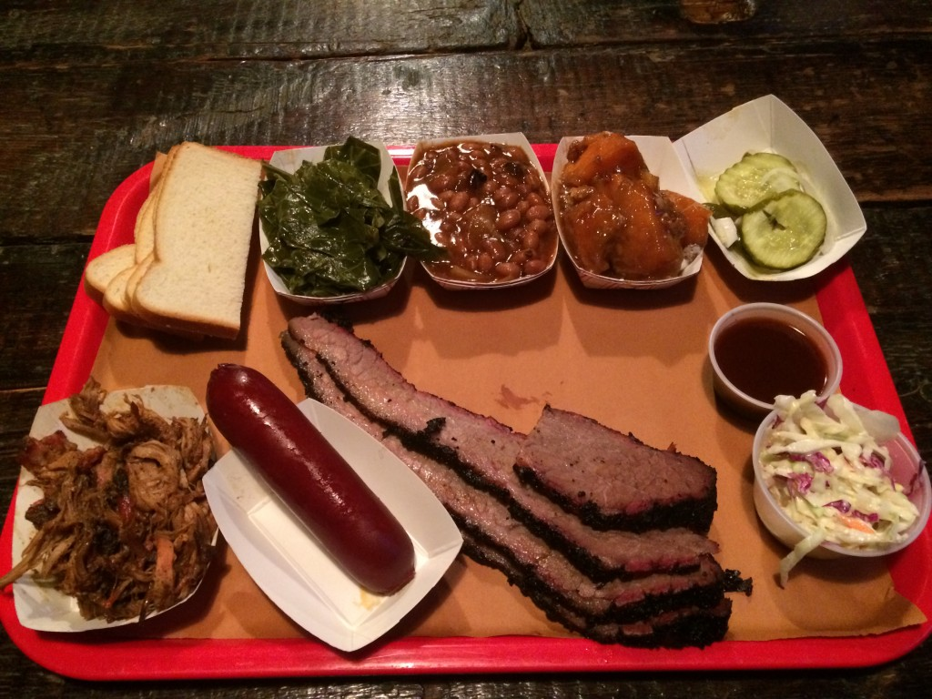 BBQ Platter at MABLE'S SMOKEHOUSE & BANQUET HALL