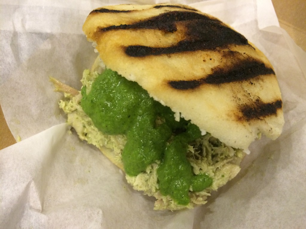 Reina Pepiada Arepa at AREPA FACTORY