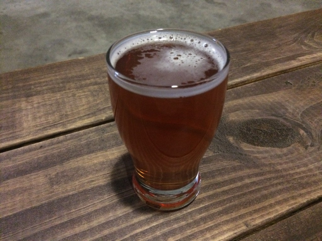 Cherrry Tree Red Ale at GUN HILL BREWING COMPANY