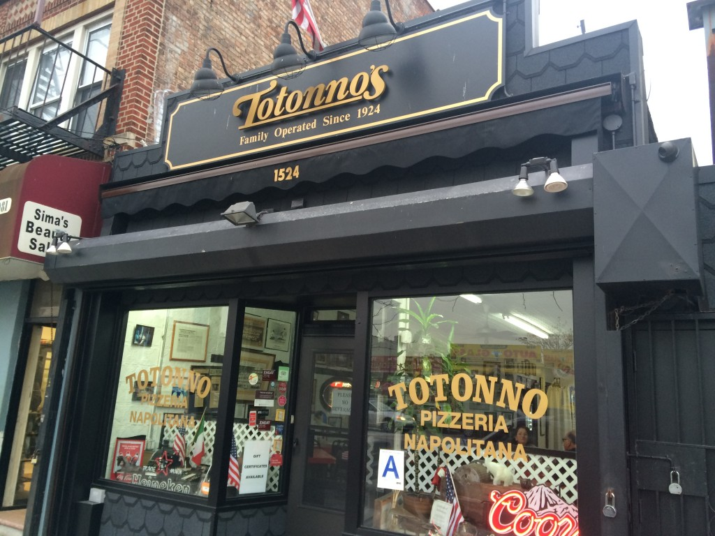 TOTONNO PIZZERIA NAPOLITANA, 1524 Neptune Avenue (between West 15th and West 16th Street), Coney Island, Brooklyn